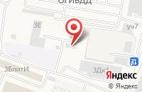 Схема проезда до компании Тройка РЭД в Красково