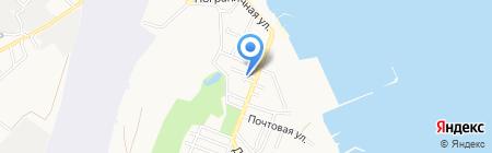 Виола на карте Геленджика