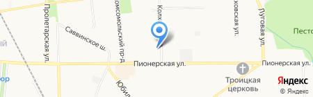 ТРАНССТРОЙСЕРВИС на карте Балашихи
