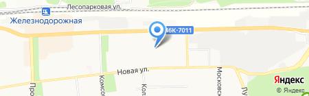 Детский сад №23 на карте Балашихи