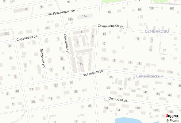 жилой комплекс по ул. Семеновская