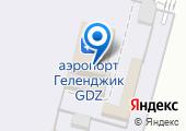 Аэропорт Геленджик на карте