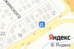 Схема проезда до компании Самурай в Геленджике