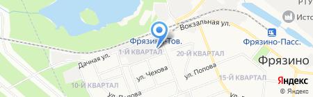 Ремонт Окон Сервис на карте Фрязино