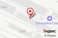 Схема проезда до компании Полиграфическая Артель в Щелково