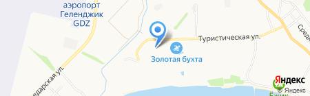 Русь на карте Геленджика