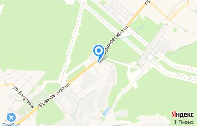 Местоположение на карте пункта техосмотра по адресу Московская обл, г Щёлково, ш Фряновское