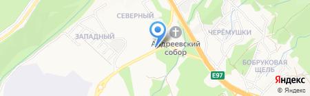 Фото-момент на карте Геленджика