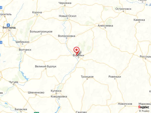 хутор Кузнецовка на карте