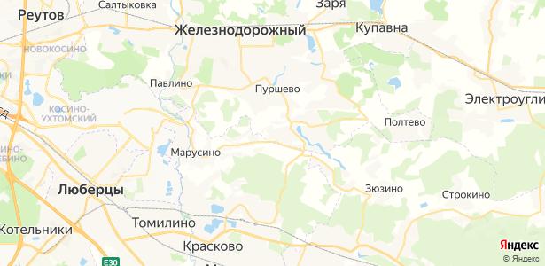 Русавкино-Романово на карте