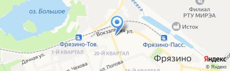 Media-sfera.ru на карте Фрязино