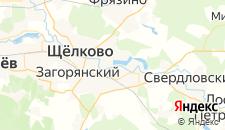 Гостиницы города Щелково на карте