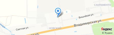 Детский сад №39 Лучик на карте Балашихи