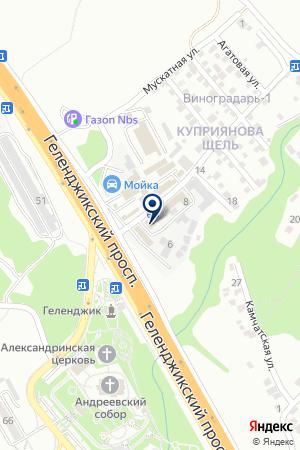 Интерьер Стиль на карте Геленджика
