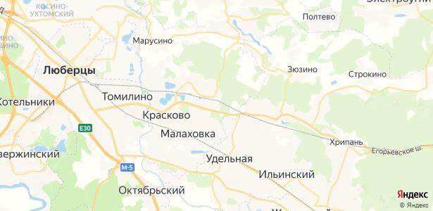 Овражки на карте