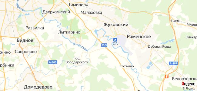 Раменское - объекты на карте