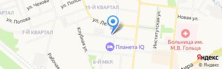 ДЮСШ на карте Фрязино