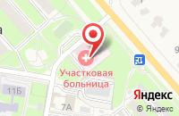 Схема проезда до компании Чулковская участковая больница в Островцах