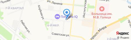 Платежный терминал МОСКОВСКИЙ КРЕДИТНЫЙ БАНК на карте Фрязино