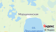 Отели города Морщихинская на карте