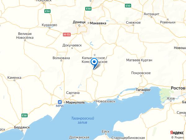 село Богдановка на карте