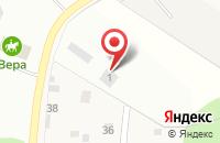 Схема проезда до компании Каскад в Торбеево
