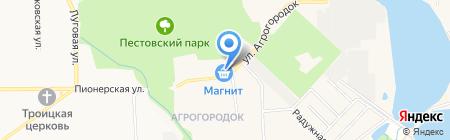 Ивановский текстиль на карте Чёрного