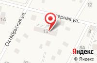 Схема проезда до компании Дачный в Удельной