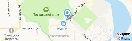 Черновская амбулатория на карте Чёрного