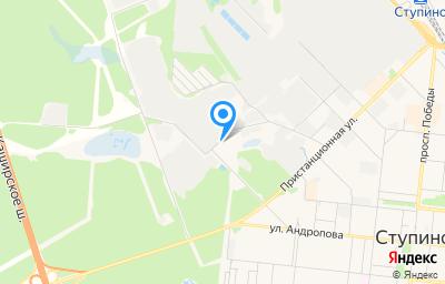 Местоположение на карте пункта техосмотра по адресу Московская обл, г Ступино, ул Транспортная, влд 13