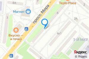 Трехкомнатная квартира во Фрязино Московская область, проспект Мира, 6, подъезд 4