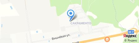Сакраменто на карте Балашихи