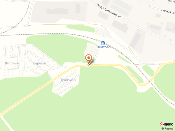 Остановка Шматово - сады (Московская область)