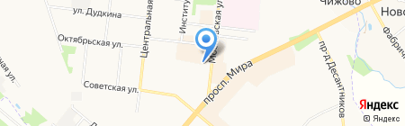 Главное Управление Пенсионного фонда РФ №18 г. Москвы и Московской области на карте Фрязино