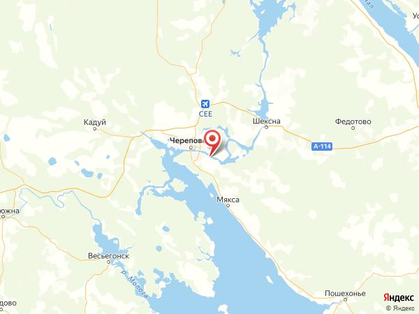 деревня Лапач на карте