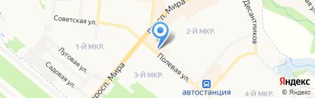 Русское слово на карте Фрязино