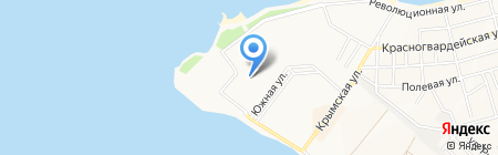 Кемпински на карте Геленджика