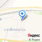 Узловая-10 на карте Узловой