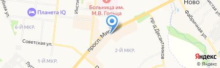 Хозяюшка на карте Фрязино
