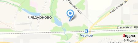 Марз на карте Балашихи