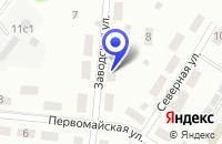 Схема проезда до компании ПТФ ЦИКЛОН-ПРИБОР во Фрязино