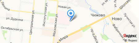 ПОСБОН на карте Фрязино