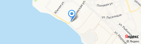 Маяк на карте Геленджика