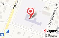 Схема проезда до компании Родниковская средняя общеобразовательная школа №32 в Родниках