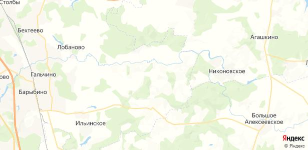 Кузовлево на карте