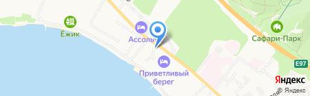 Дарья на карте Геленджика