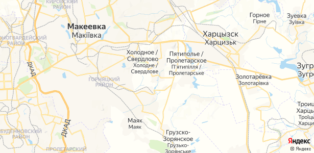 Угольщик на карте