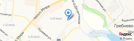 Молодежный центр г. Фрязино на карте Фрязино