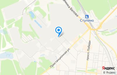 Местоположение на карте пункта техосмотра по адресу Московская обл, г Ступино, ул Фрунзе, влд 20А