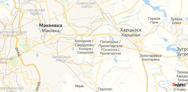 Свердлово на карте
